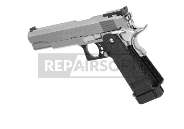 Hi-Capa 5.1 Stainless GBB Silver